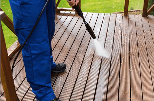 el monte deck cleaning