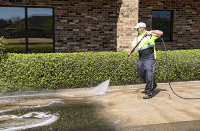 commercial concrete cleaning in el monte
